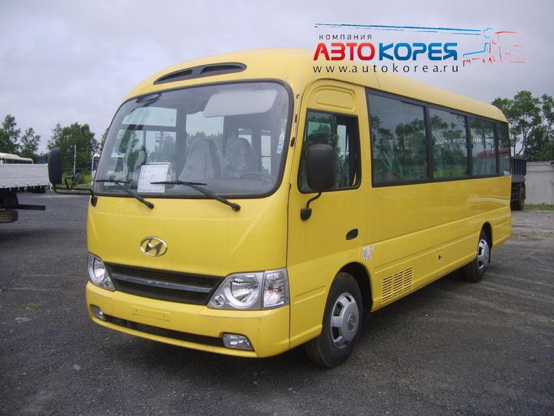 технические характеристики автобуса hyundai county,