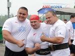 Сборная России выиграла международную матчевую встречу по силовому экстриму в Красноярске.