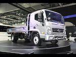 Презентация нового поколения грузовиков Hyundai HD65/78 (New Mighty) на Seul Motor Show 2015