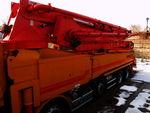 Бетононасос KCP на грузовом шасси Hyundai Trago
