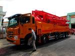 Бетононасос KCP на грузовом шасси
